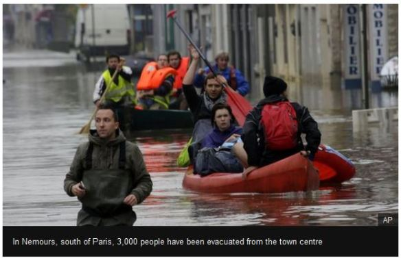 Flooding Paris June 2016
