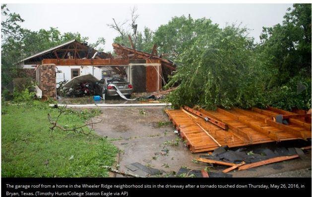 Tornado Texas May 2016