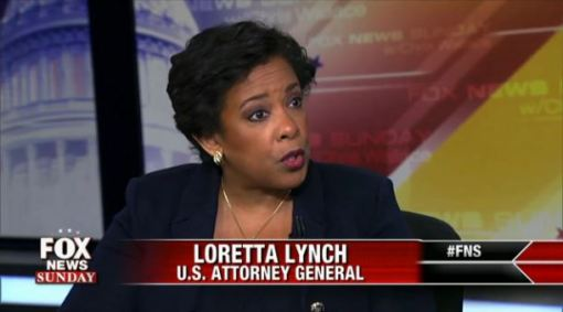 US Attorney General Lorreta Lynch  DOJ