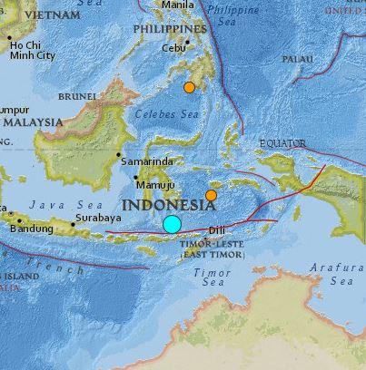 earthquake Indonesia 6.0 August 24 2016