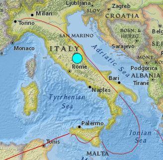 earthquake Italy 6.2 August 24 2016