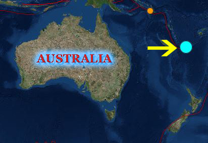 earthquake New Calcedonia magnitude 7