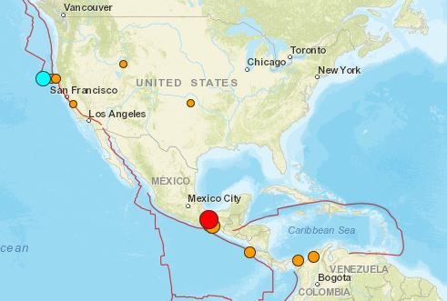 Magnitude 57 earthquake california 62 mexico september 23 2017 usgs live earthquake map september 23 past 24 hours gumiabroncs Choice Image
